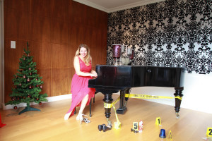 Nathalie am Klavier
